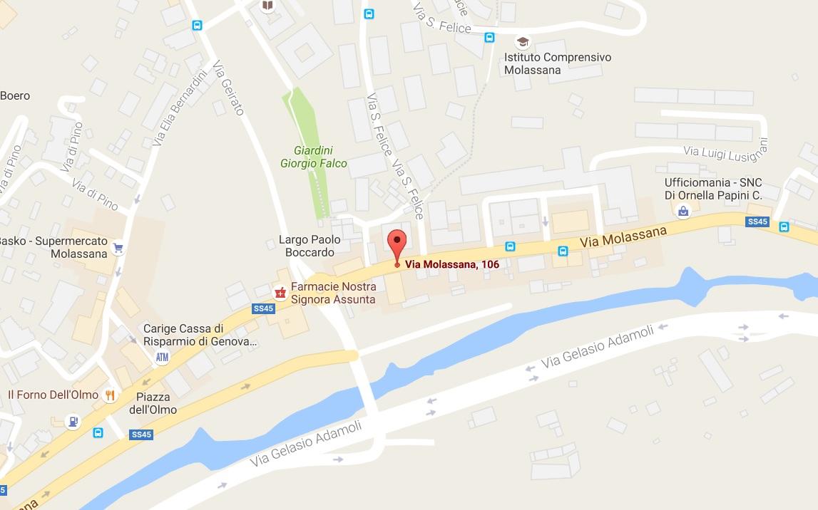 Fai un click sulla mappa per andare su google maps e sapere come raggiungerci
